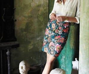 fashion, skirt, and stylish image