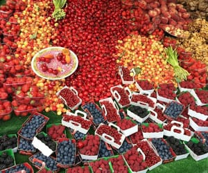 cherries, strawberries, and delicious image