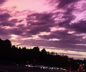 car, pink, and skylight image