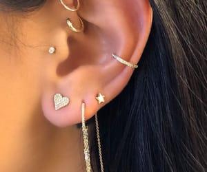 aesthetic, earrings, and indie image