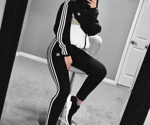 adidas, mode, and black image