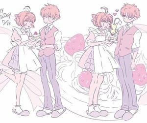 card captor sakura, kawaii, and sakura image