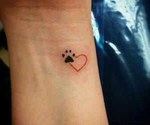 dog, pet, and tattoo image