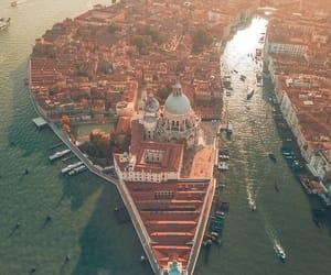 city, italy, and venice image
