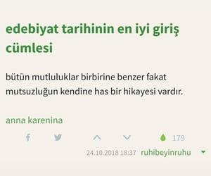 anna karenina, türkçe sözler, and turkce image