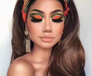 beatiful, colors, and eyesbrows image