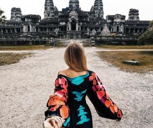 angkor wat, siem reap, and Cambodia image