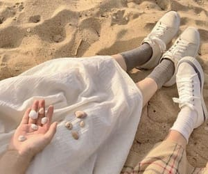 aesthetic, beige, and beach image