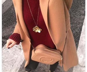 fashion, ootd, and cashmere coat image