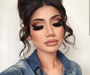 beauty, makeup, and make-up image