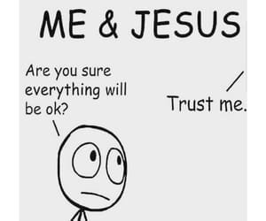 jesus and trust image