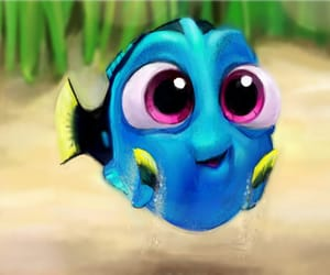 cute, finding dory, and disney image