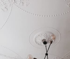 ceiling, chandelier, and decor image