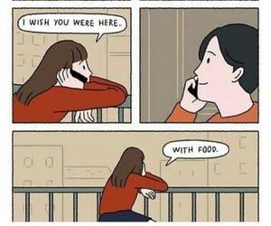 food, love, and comic image