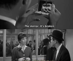 broken, quotes, and mirror image