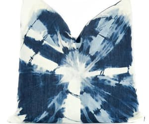 abstract pattern, bestpillow, and blue and white image