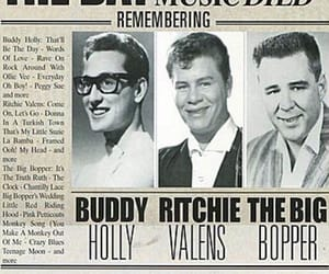 buddy holly, music, and rip image