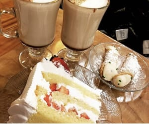 cake, delicious, and caffee image