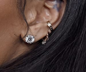conch, ear, and earings image