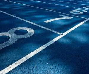 blue, lanes, and numbers image