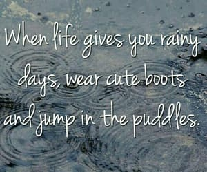 boots, days, and rainy image