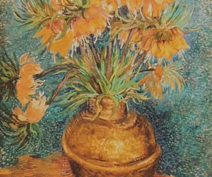 flowers, van gogh, and art image