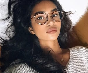 glasses, gray, and sweater image