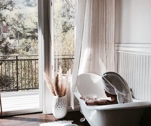 bath, bubbles, and model image