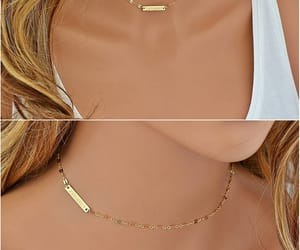 etsy, gift for her, and gold choker necklace image
