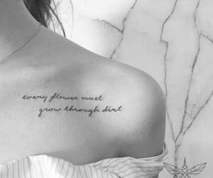 collarbone, tattoo, and dirt image