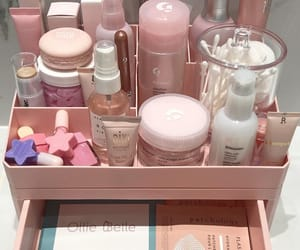 pink, skincare, and rose gold image