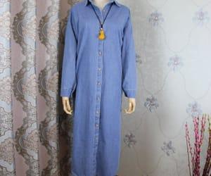 etsy, autumn dress, and long dress image