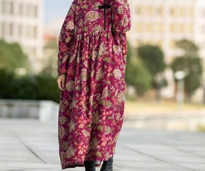 etsy, vintage robe, and long dress image