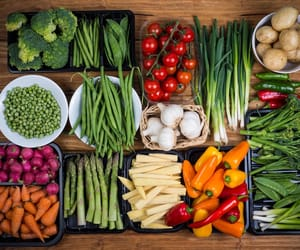 healthy, vegetables, and food image