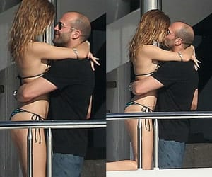 rosie huntington and Jason Statham image
