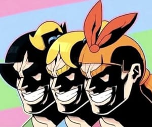 my hero academia, power puff girls, and all might image