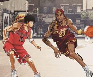 Basketball, luffy, and LeBron James image