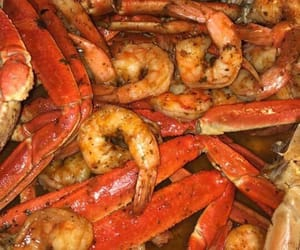 crabs and seafood image
