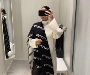 Balenciaga, sleek, and winter fashion image