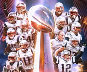 football, let's go pats, and New England Patriots image