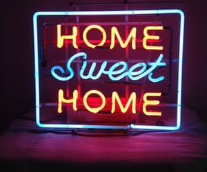 colors, neon, and home image