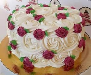 cake, spring, and torta image