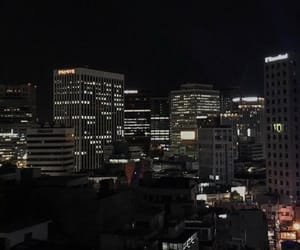 city, dark, and aesthetic image