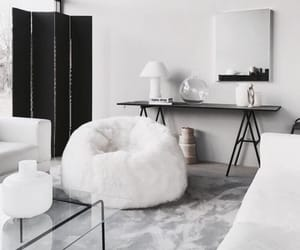 interior, white, and design image