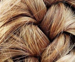 blonde, golden, and golden hair image