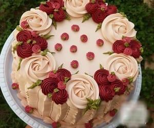cake, pastel, and primavera image