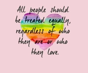 love, quotes, and equality image