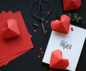art, feelings, and folding image