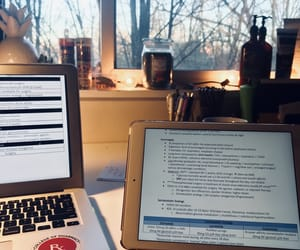 coffee, desk, and inspiration image
