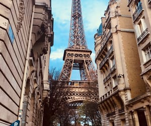 eiffel tower, travel, and wanderlust image